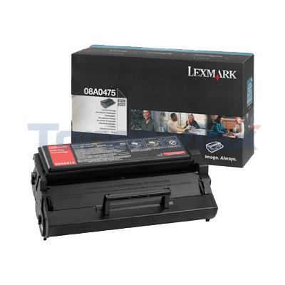 LEXMARK E320 TONER CARTRIDGE BLACK